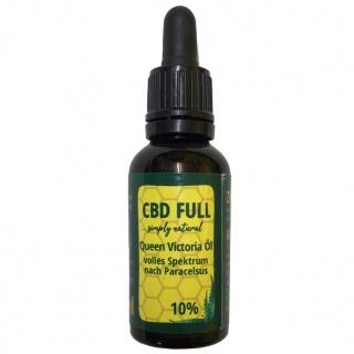 CBD Öl 10% 10ml Vollspektrum Hanfextrakt